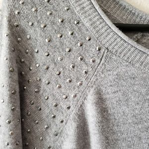 4 for $40! Boatneck Studded Sweater